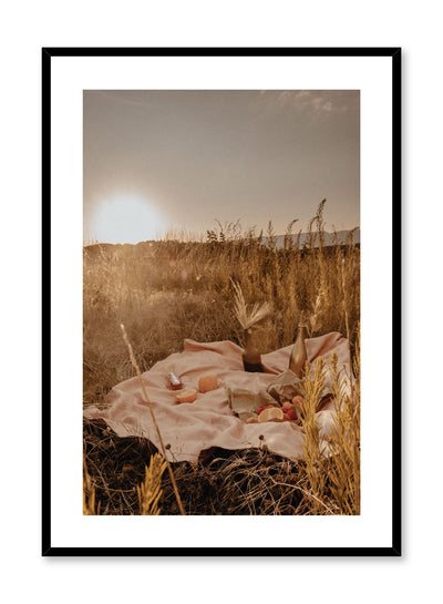 Perfect Date is sunny picnic photography poster by Opposite Wall.