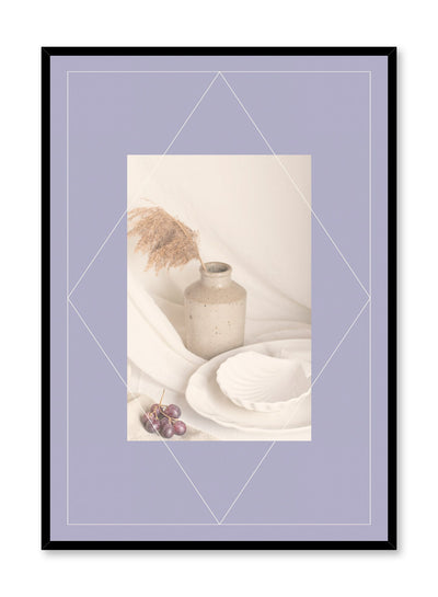 Dreamy Display is a still life fruit photography and typography poster by Opposite Wall.