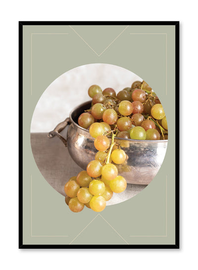 Grape Abundance is a still life photography poster with fruit by Opposite Wall.