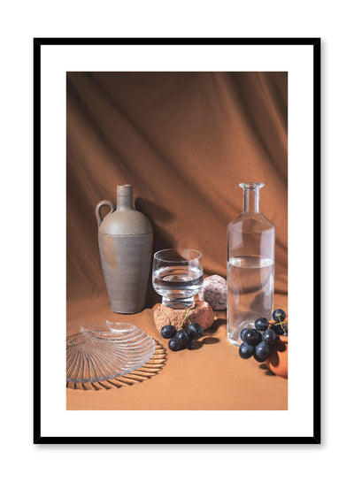 Scintillating Spread is a still life photography poster with fruit by Opposite Wall.
