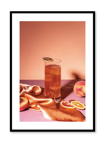 Thirst Quencher is a colourful fruit photography poster by Opposite Wall.