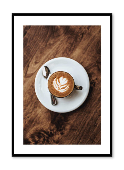 Morning Glory is a coffee photography poster by Opposite Wall.