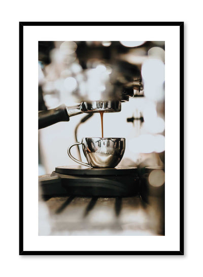 Barista is a coffee photography poster by Opposite Wall.