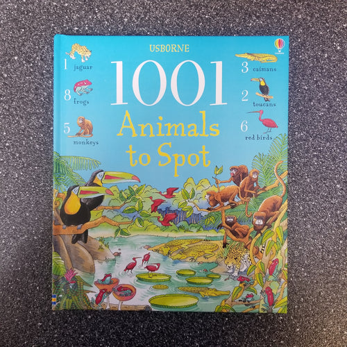 Book, 1001 Animals to Spot