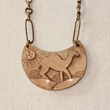 Camel Necklace - Lock & Key