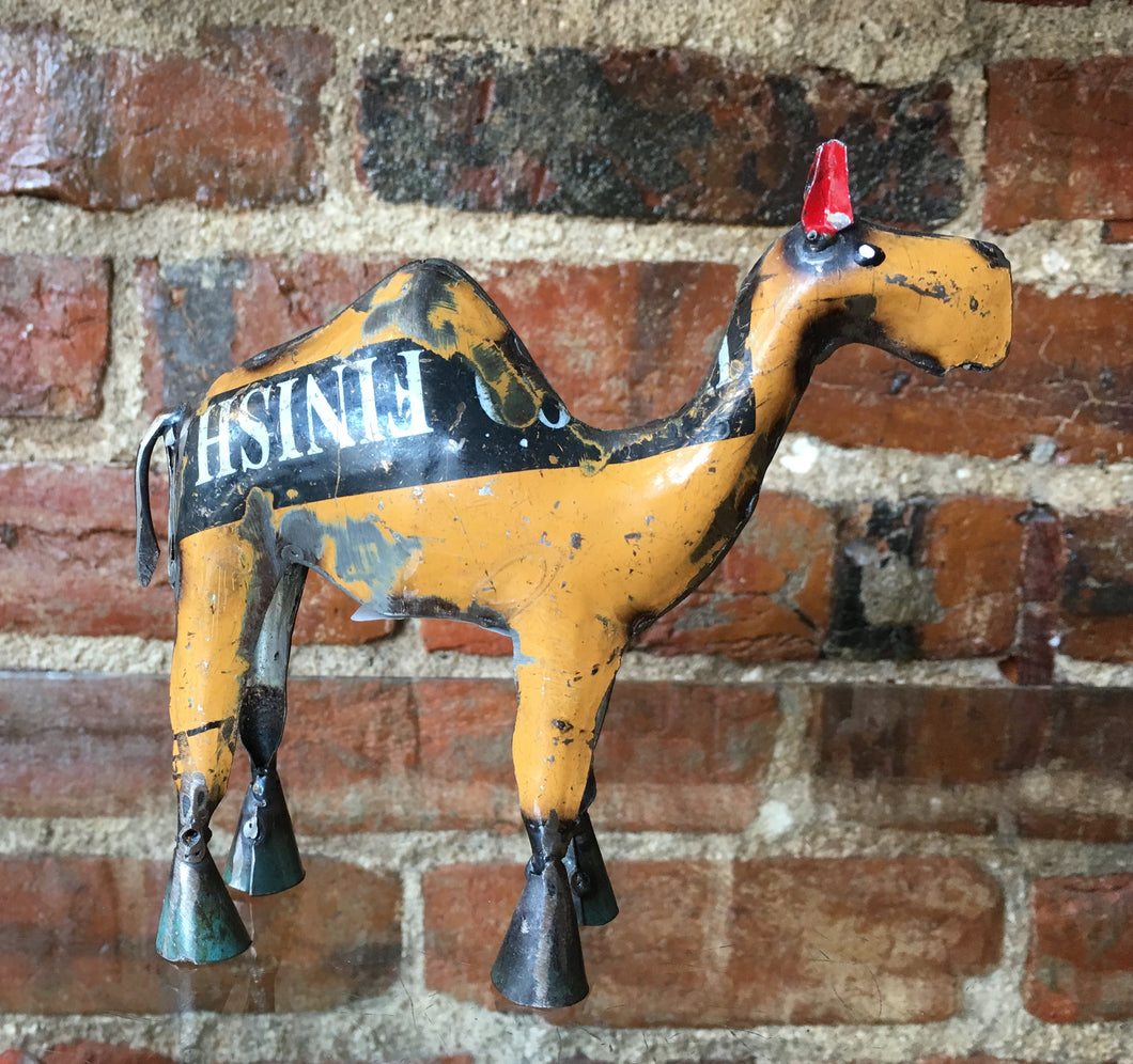 Recycled Metal Camel Small