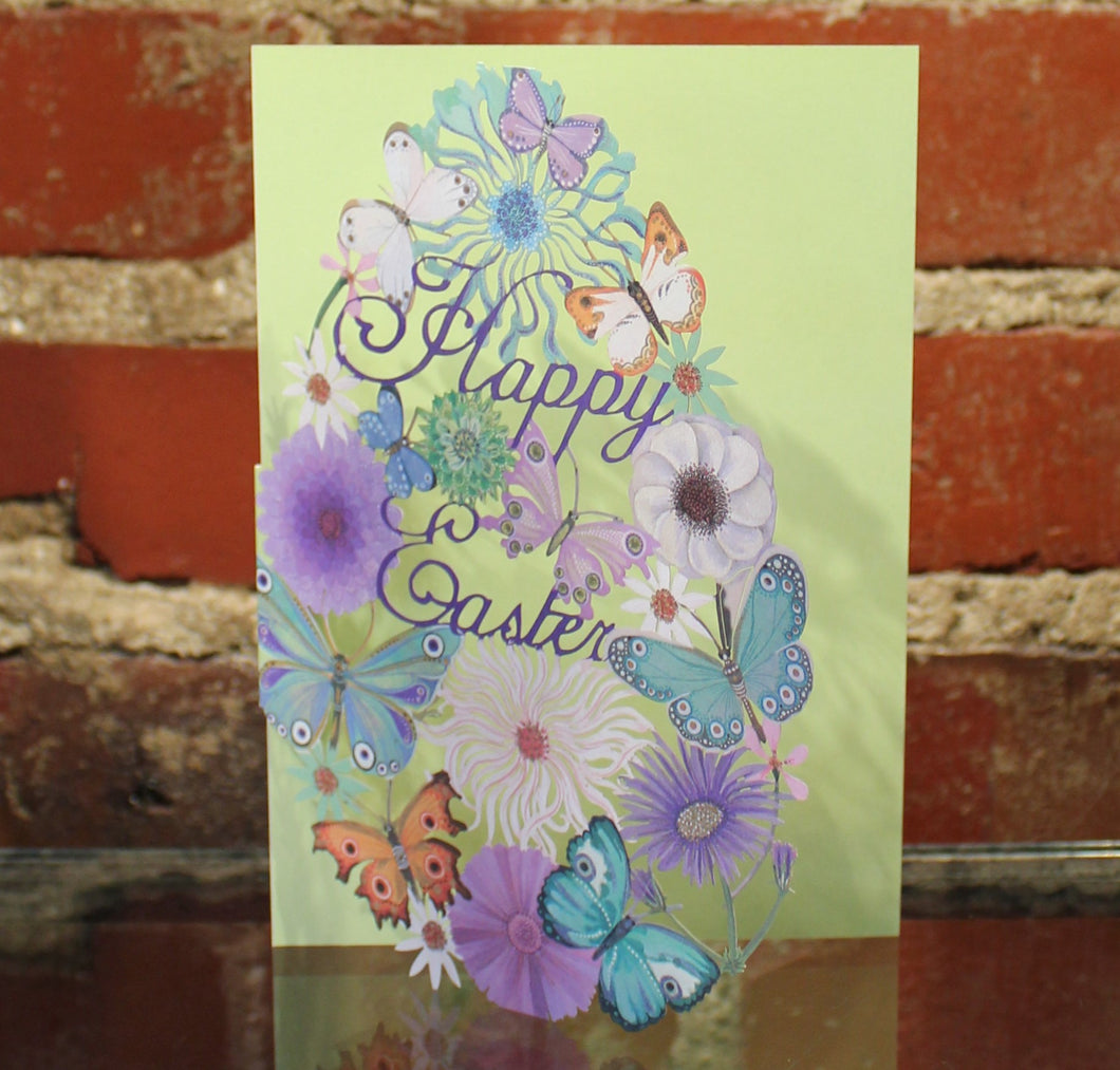 Greeting Card, Easter Laser Cut