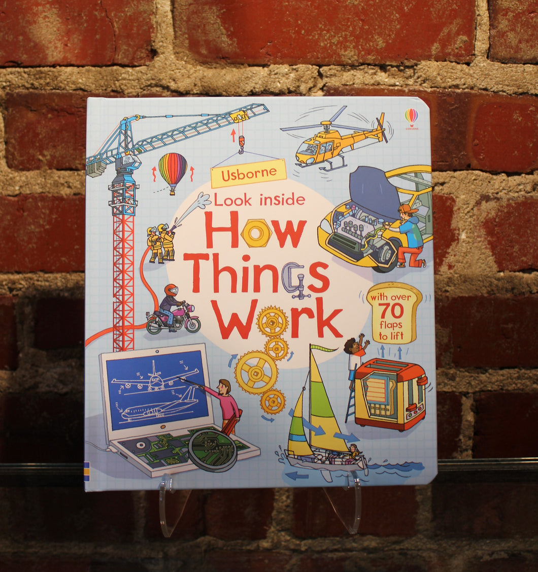 Book, Look Inside How Things Work