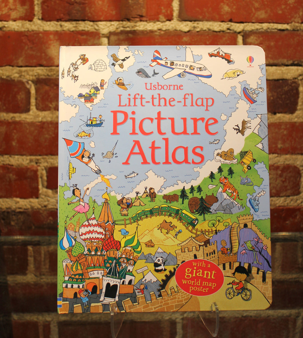 Book, Lift-the-Flap Picture Atlas