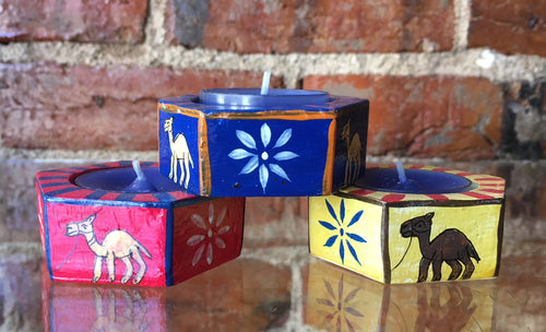 Camel Tea Light Holders