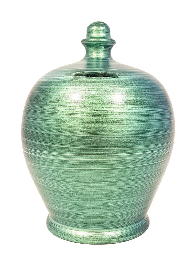Terramundi Money Pot (Metallic Green)