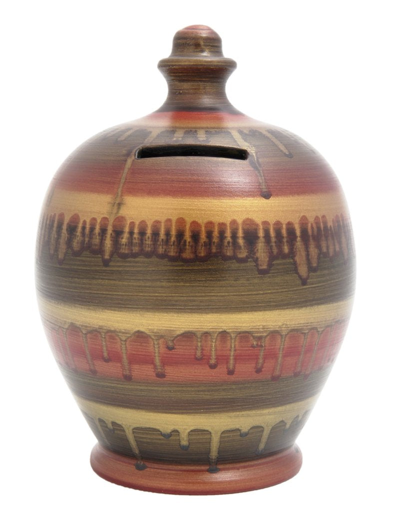 Terramundi Money Pot (GLAZE, GOLD, MASALA, BLACK)