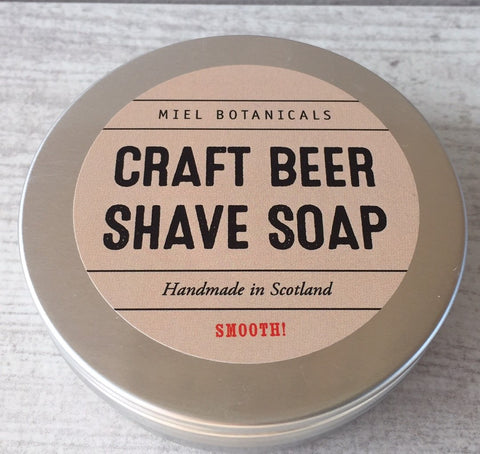 Craft Beer Shave Soap - Miel Botanicals