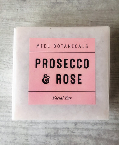 Prosecco Facial Bar - Miel Botanicals