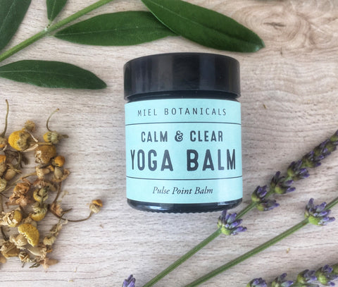 Large Calm & Clear Yoga Balm - Miel Botanicals