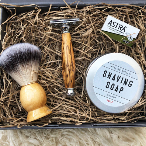 Luxury Shaving Gift Set - Miel Botanicals