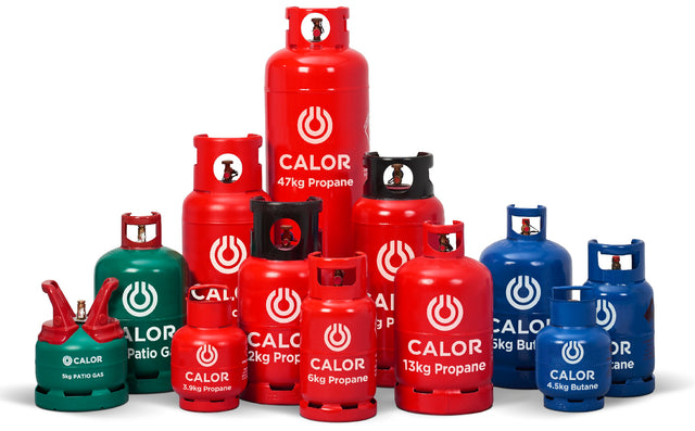 Calor Gas cylinders with Free UK delivery - Gottle Gas