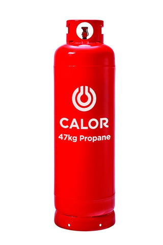 47kg Propane Gas Cylinder *Free delivery* Screw Fit Regulator* 5-10 day delivery time
