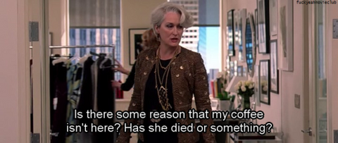 Devil Wears Prada Quote