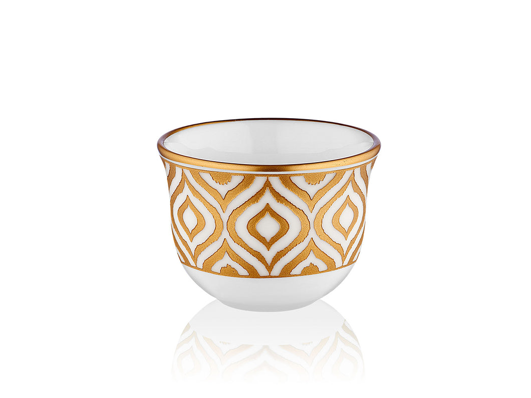 Candle Holder - Ikat - Mat Gold Premium - 90 cc-Candle Holder-K-United
