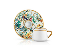 Sufi Coffee Cup and Saucer - Amazon Brasil - 90 cc-Cups, Saucers & Mugs-K-United