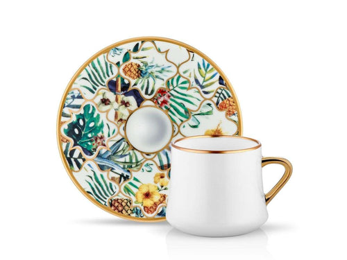 Sufi Cup and Saucer - Amazon Brasil - 230 cc