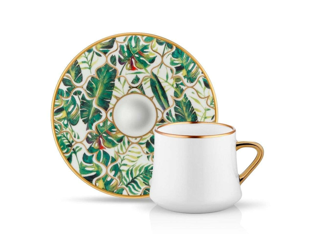 Sufi Cup and Saucer - Amazon Equator - 230 cc