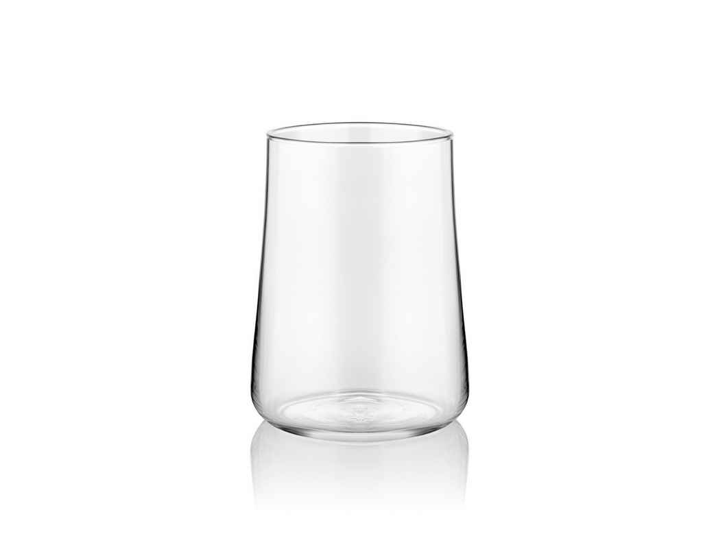 Aheste Coffee Side Glass - Transparent - Set of 6-Glasses-K-United