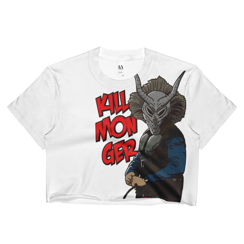 Killmonger Sublimation Ladies Crop Top