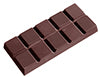 CW1367 Polycarbonate Chocolate Mould Tablet