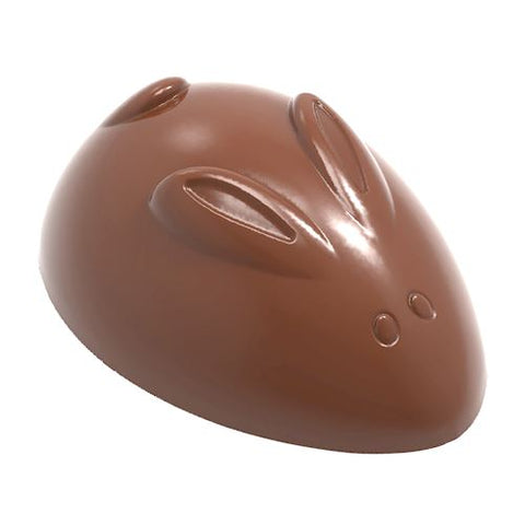 CW1875 Chocolate Mould Rabbit Abstract