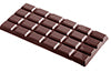 CW2110 Chocolate Mould Tablet 4x6 rectangle