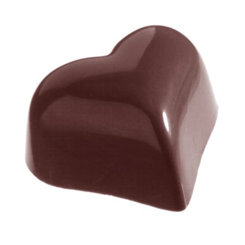 CW2372 CHOCOLATE MOULD HEART ROUND