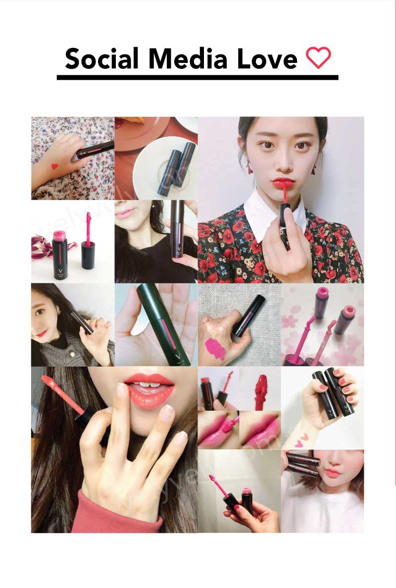 The Vely Vely Matte Tint was a crazy hit in Korea. Just look at the amount of people posting and raving about it on social media, Instagram, Facebook etc!
