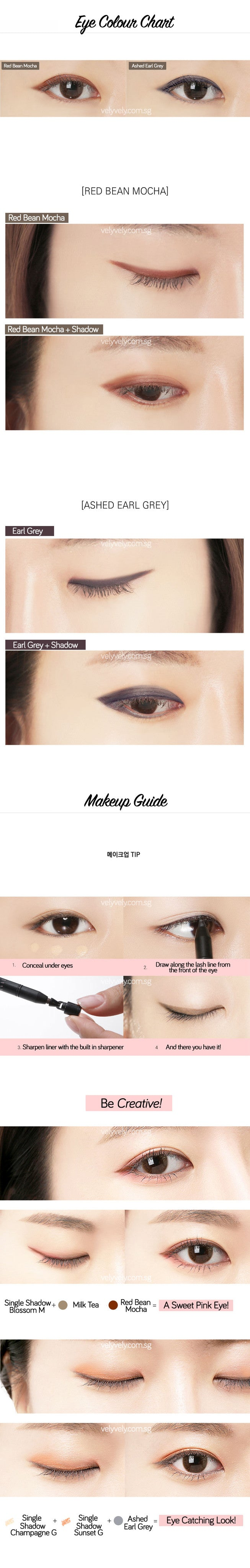 Eye definition lasting shadow liner vely vely singapore eye color chart of eye definition lasting shadow liners geenschuldenfo Images