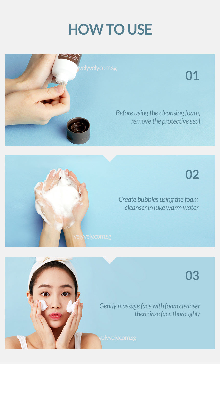 Vely Vely Sweet Rice Cake Deep Cleanser How To Use