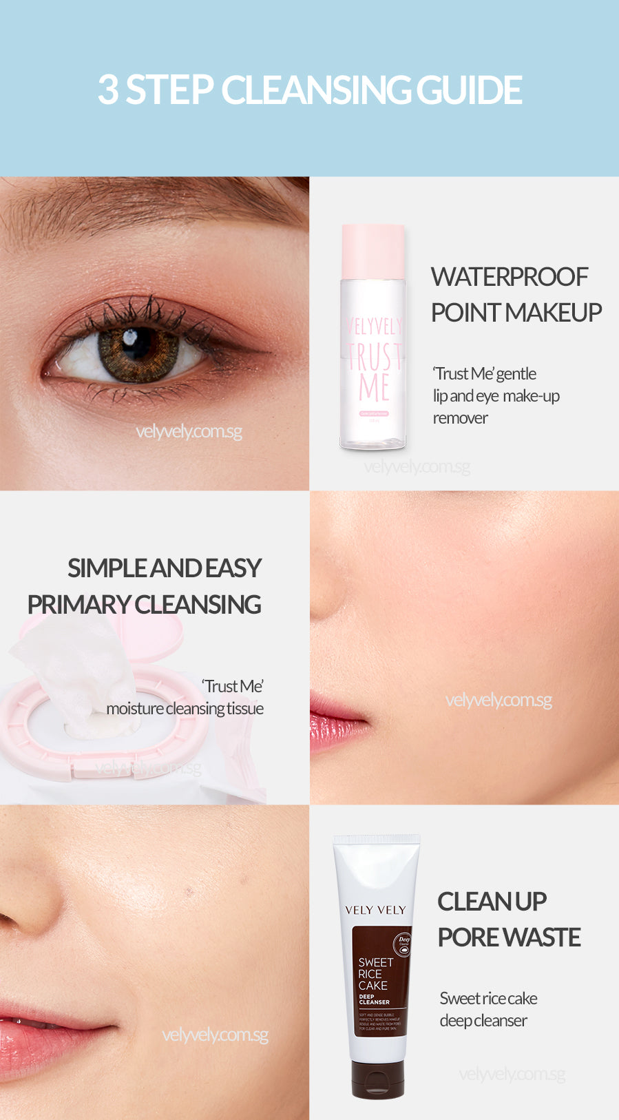 Vely Vely Sweet Rice Cake Deep Cleanser Remove Makeup