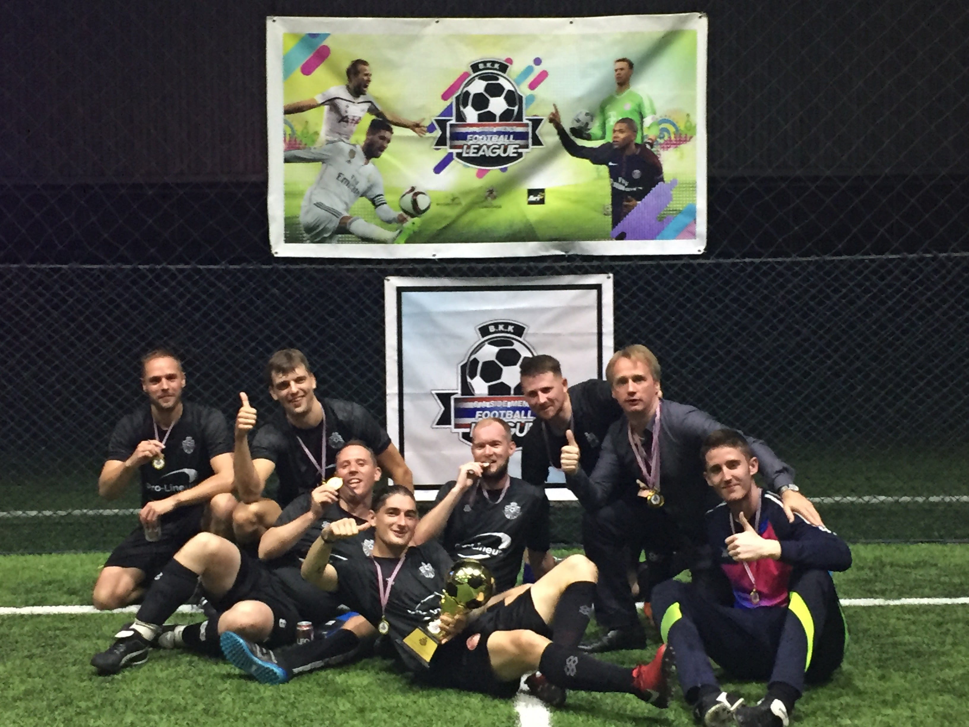 Pro-Lineup FC crowned champions