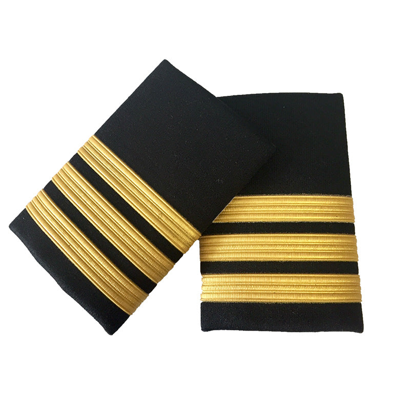 Epaulette Pair 3 Bars (Box of 10)