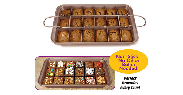 Nonstick Brownie Baking Pan