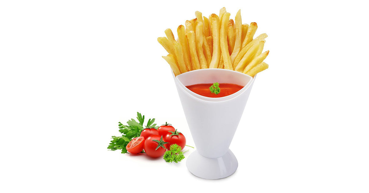 3-Pack French Fry Dipping Cone