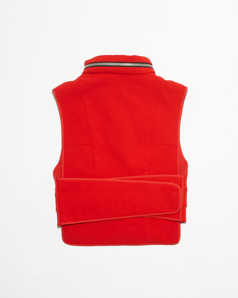 Red Cut-proof Kevlar Hug Vest - DEPARTAMENTO
