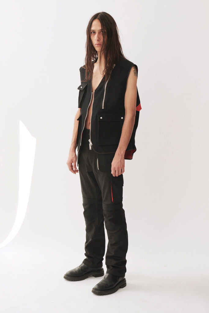 ADYAR - Virgin Wool Trady Shell Vest - DEPARTAMENTO