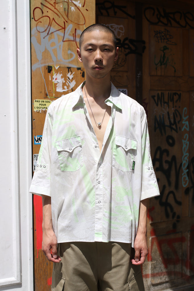 [vendor_title] Acid Short Sleeve Shirt - DEPARTAMENTO
