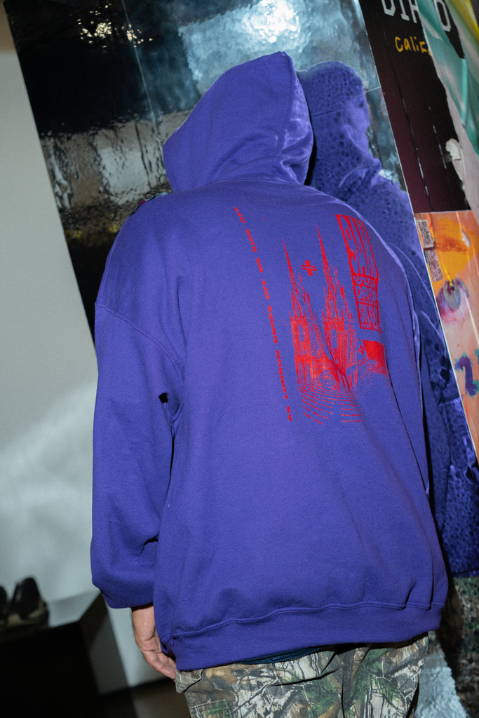 Purple Jungle Hoodie by 4THSEX - get Free Shipping & Returns in USA. Shop online the latest Tops of 4THSEX for Men at DPTO LA.