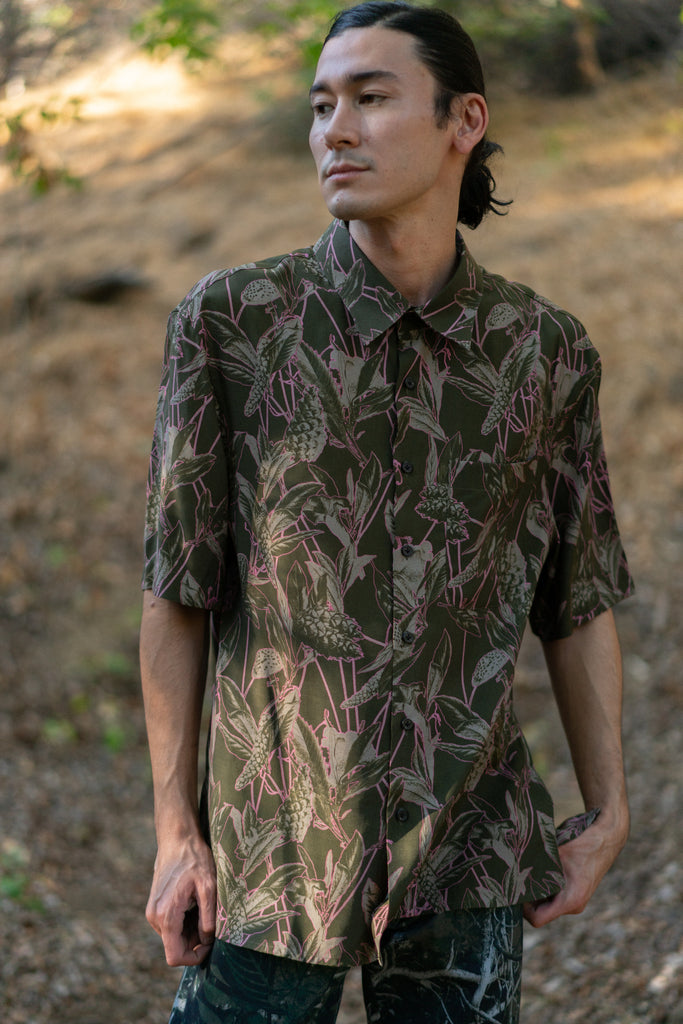Oversized Floral Print Shirt by Lanvin - get Free Shipping & Returns in USA. Shop online the latest Tops of Lanvin for Men at DPTO LA.