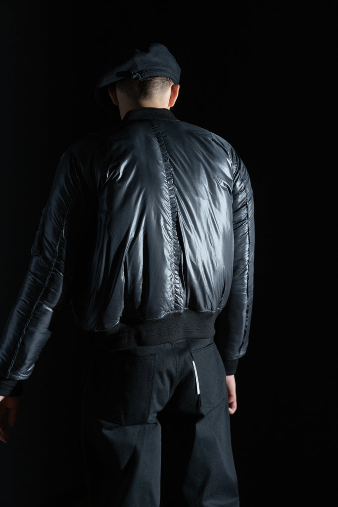 [vendor_title] Nylon Bomber Jacket - DEPARTAMENTO