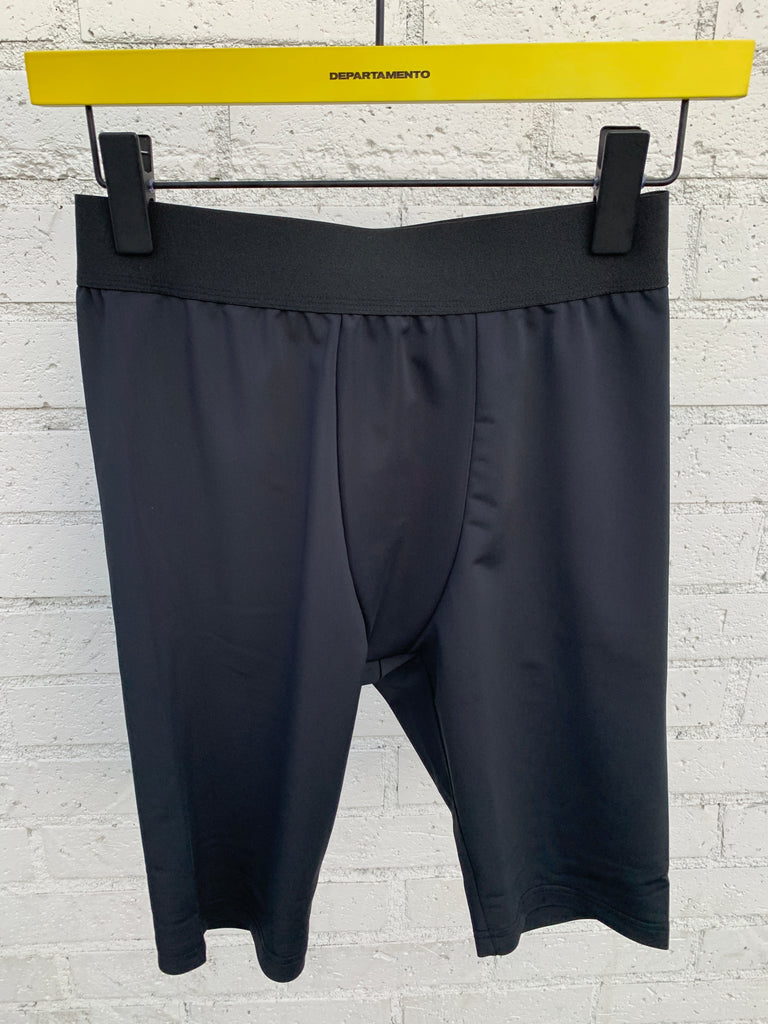 [vendor_title] Black Poly Biker Swim Short - DEPARTAMENTO