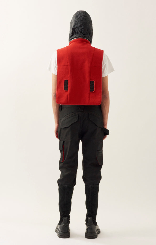 Red Cut-proof Kevlar Hug Vest