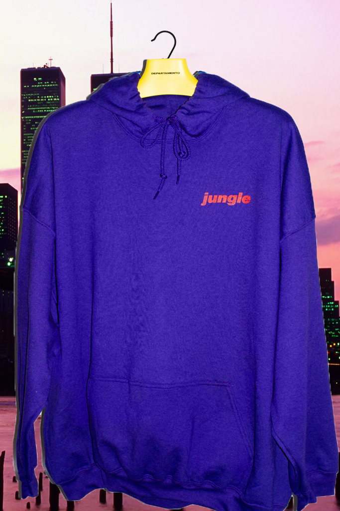 [vendor_title] Purple Jungle Hoodie - DEPARTAMENTO